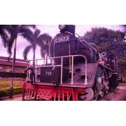 Train at River Kwai